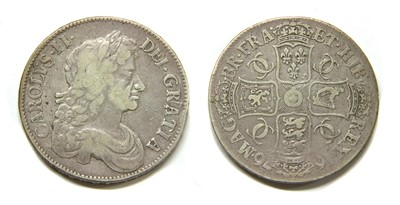 Lot 4-Coins, Great Britain, Charles II (1660-1685)