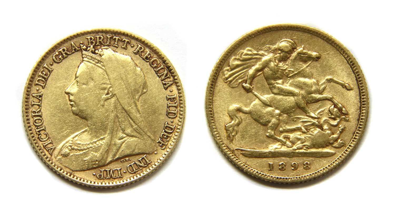 Lot 13-Coins, Great Britain, Victoria (1837-1901)