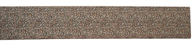 Lot 137 - An Arts and Crafts roll of woven carpet