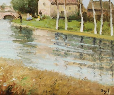 Lot 47-*Marcel Dyf (French, 1899-1985)