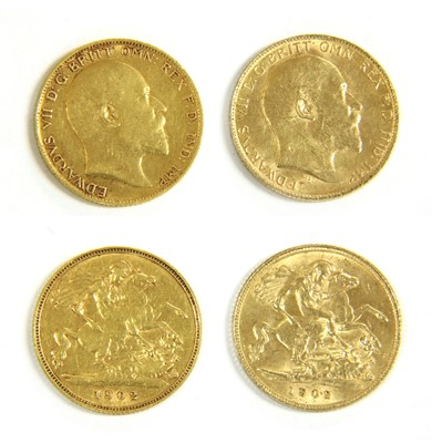 Lot 19-Coins, Great Britain, Edward VII (1901-1910)
