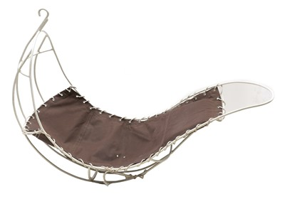 Lot 65-A hanging leaf chair
