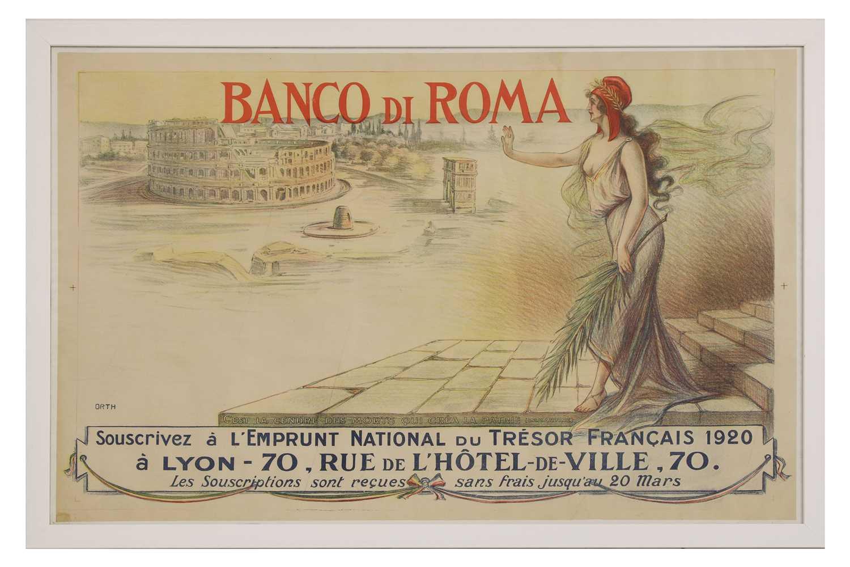Lot 20 - 'Banco di Roma'