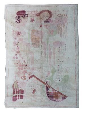 Lot 535 - A rare European Art Deco rug