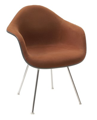 Lot 349 - An Eames 'DAX' upholstered chair