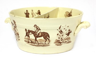 Lot 97 - An unusual French pottery bowl