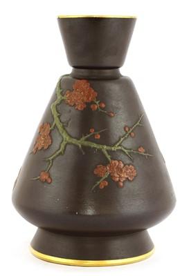 Lot 59 - A Minton glazed vase