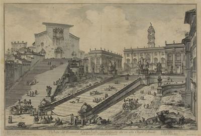 Lot 506 - Giovanni Battista Piranesi (Italian, 1720-1778)