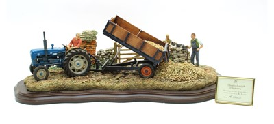 Lot 6-Country Artists 'Harvesting the Beet'
