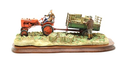 Lot 22-Border FIne Arts 'Cut and Crafted' tractor group