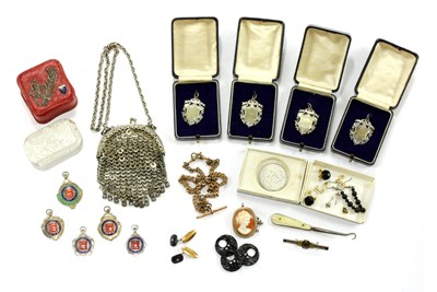 Lot 10-A collection of Victorian and later jewellery