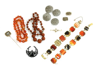 Lot 11-A collection of Victorian jewellery