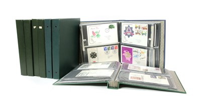 Lot 6-Six albums of world stamps