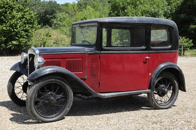 Lot 1-1933 Austin 7 RP Saloon