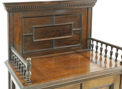 Lot 26-A walnut cabinet