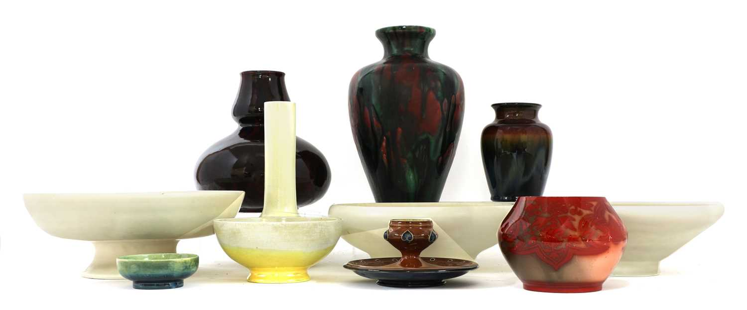 Lot 148 - A collection of Art pottery