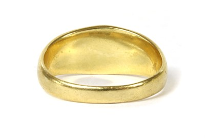 Lot 6-A Victorian 18ct gold coral ring