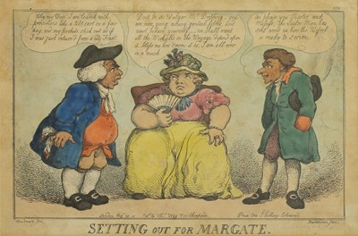Lot 515 - Thomas Rowlandson (1757-1827) after George Moutard Woodward (c.1760-1806)