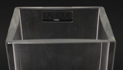 Lot 288 - A Lalique 'Lucca' glass vase