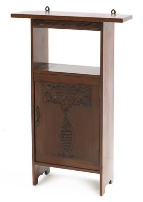 Lot 125 - An Arts and Crafts mahogany cabinet