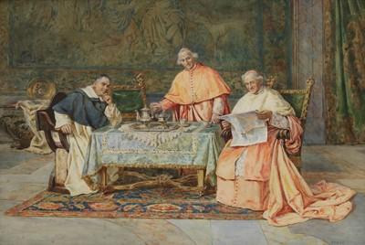 Lot 625 - Pietro Pavesi (Italian, 1844-1907)