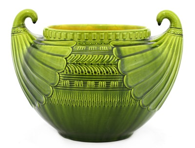 Lot 63 - A Linthorpe Pottery jardinière