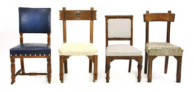 Lot 25 - Four architect-designed chairs