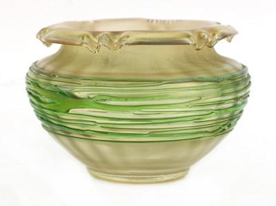 Lot 96 - A Pallme-König lustre glass vase