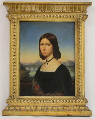 Lot 606 - Roberto Bompiani (Italian, 1821-1908)