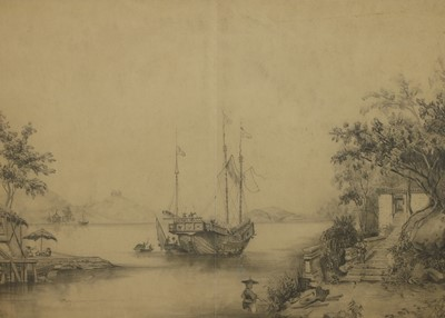 Lot 528 - Anglo-Chinese School, 19th century