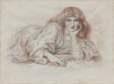 Lot 573 - Circle of Dante Gabriel Rossetti (1828-1882)