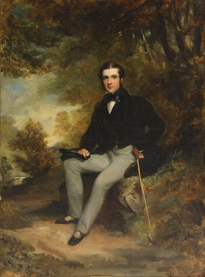 Lot 605 - Attributed to Sir Francis Grant RA (1803-1878)