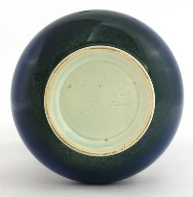 Lot 149 - A Ruskin blue glazed vase