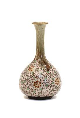 Lot 94 - An onion shaped Oriental vase