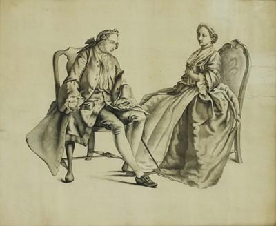 Lot 531 - Hubert-Francois Gravelot (French, 1699-1773)