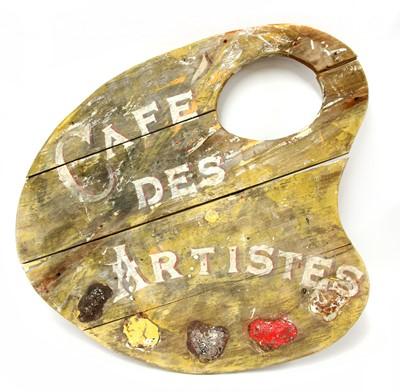 Lot 395 - 'CAFE DES ARTISTES'