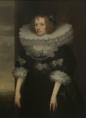 Lot 584 - Circle of Sir Anthony Van Dyck (Flemish, 1599-1641)