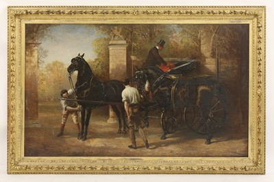 Lot 30-Alfred Hitchens Corbould (1821-1874)