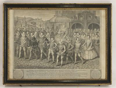 Lot 503 - George Vertue (1684-1756) after Marcus Gheeraerts