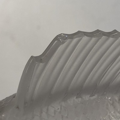 Lot 301 - A Lalique glass 'Perche' car mascot
