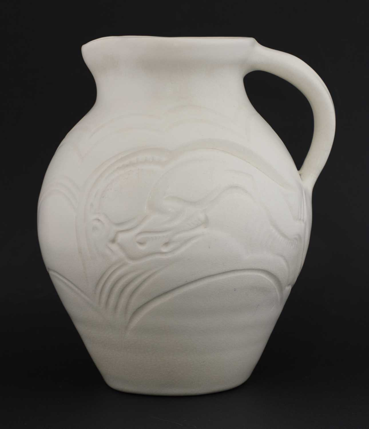 Lot 374 - A Susie Cooper pottery jug