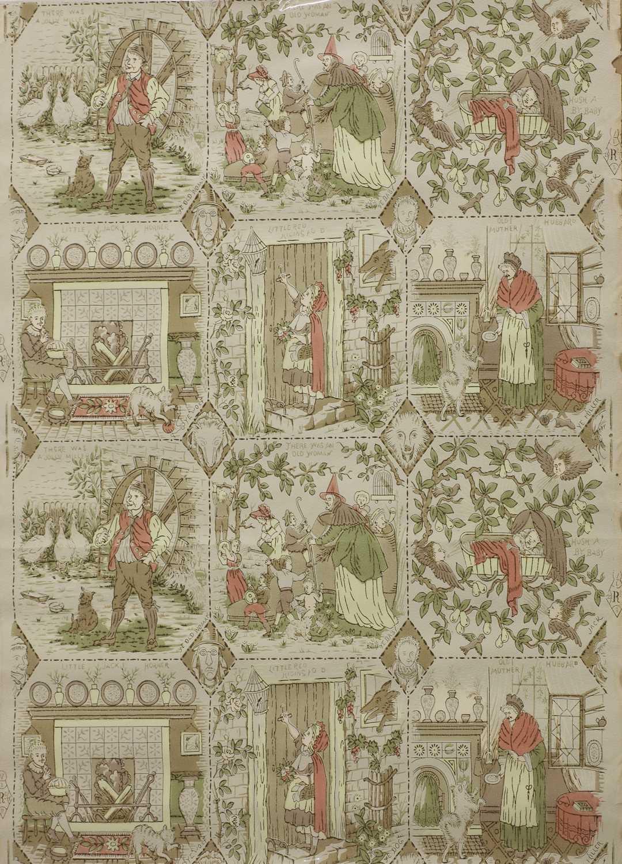 Lot 36 - Nursery wallpaper