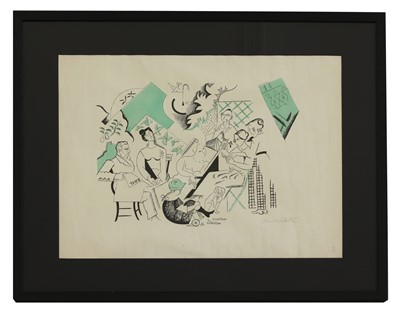 Lot 492 - *André Lhote (French, 1885-1962)