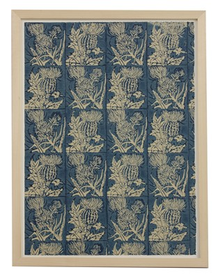 Lot 448 - Two coloured block prints