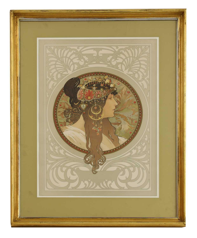 Lot 19 - Alphonse Mucha (Czech, 1860-1939)