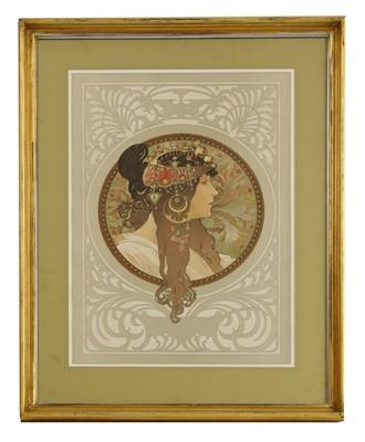 Lot 19-Alphonse Mucha (Czech, 1860-1939)