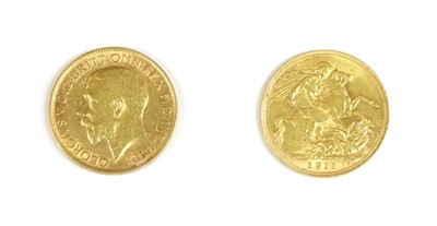 Lot 19-Coins, Great Britain, George V (1901-1936)