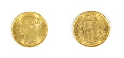Lot 13A-Coins, Great Britain, Victoria (1837-1901)