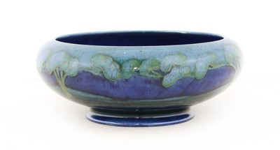 Lot 214 - A Moorcroft 'Moonlit Blue' bowl