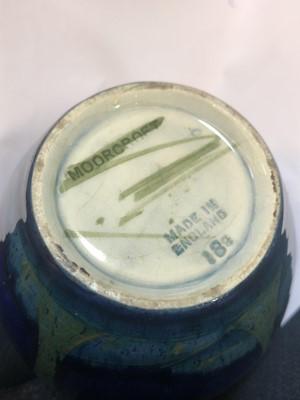 Lot 215 - A Moorcroft 'Moonlit Blue' vase